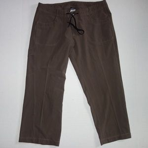 Patagonia Hiking Trail Capri Pants Brown 8